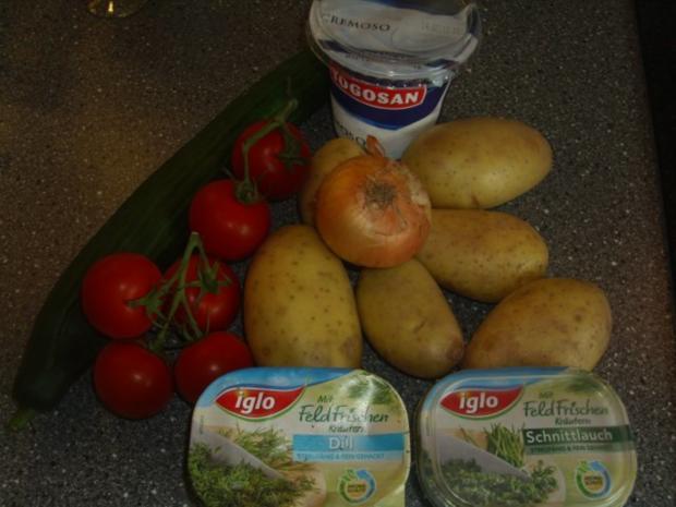 Sommerlicher Kartoffelsalat - Rezept - Bild Nr. 2