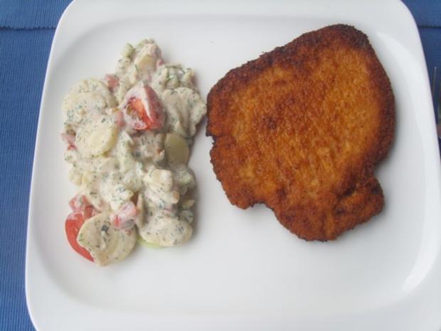 Sommerlicher Kartoffelsalat - Rezept - Bild Nr. 4
