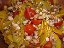 Zucchinisalat mit Kirschtomaten - Rezept