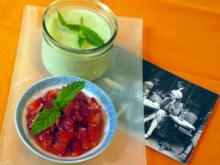 Peppermint meets Strawberry - Rezept