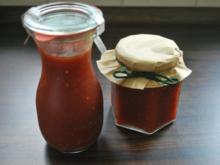 Tomaten-Paprika-Grill-Sauce - Rezept