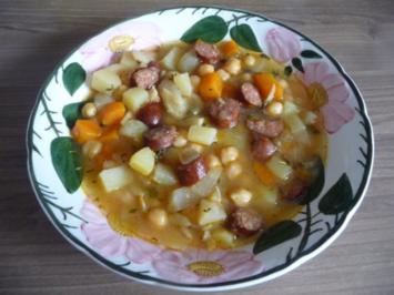Suppen & Eintöpfe : ...im Wok gekocht - Rezept