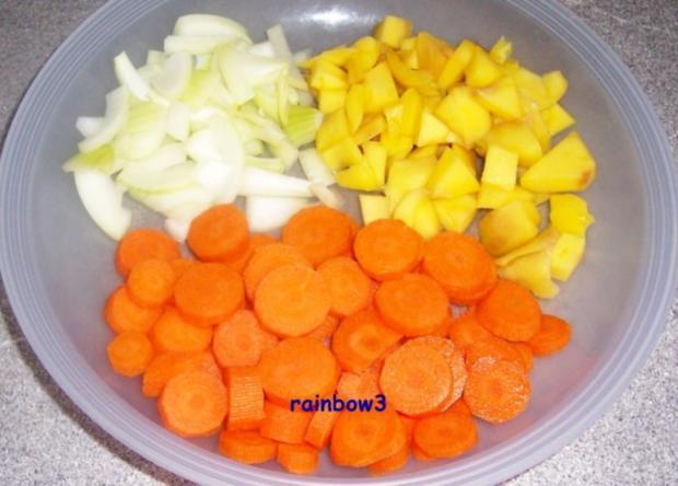 Kochen: Hähnchengeschnetzeltes in fruchtig-scharfer Sauce - Rezept - Bild Nr. 3