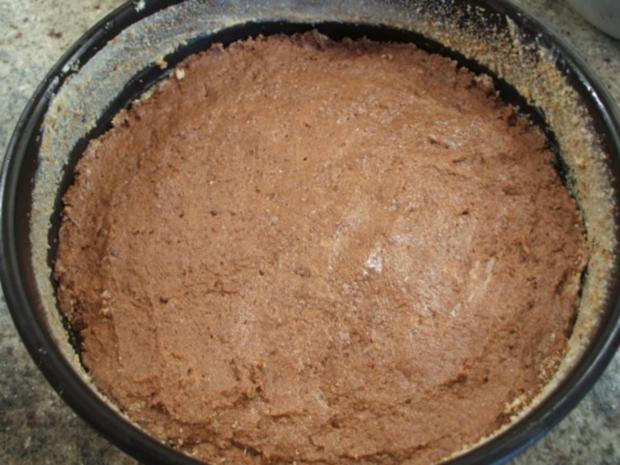 Backen: Kirschenkuchen mit Schokoboden - Rezept - Bild Nr. 4
