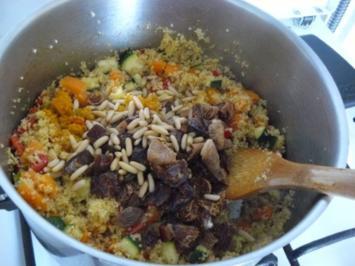 Couscous mit Gemüse - Rezept