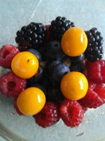 Mascarponecreme mit frischen Beeren - Rezept - Bild Nr. 15