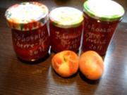 Konfitüre & Co:  Rote Johannisbeere mit Weinbergpfirsich - Rezept
