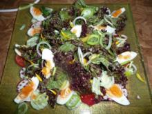 Salat mit Ringelblumen - Rezept