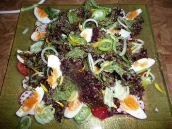 Rezept: Salat mit Ringelblumen