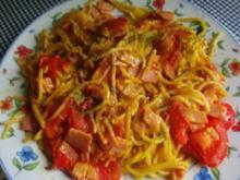 Spaghettipfanne - Rezept