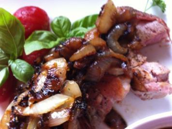 Schweine – Filet .. mit Soße..schnell gezaubert.... - Rezept