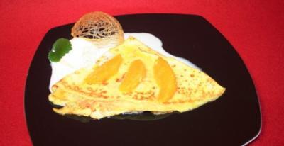 Flambierte Orangen-Crêpes - Rezept
