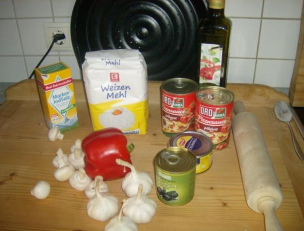 Pizza - Rezept - Bild Nr. 2