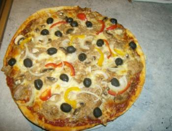 Rezept: Pizza