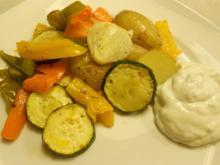 buntes Gemüse vom Blech (Antipasti-Art) - Rezept