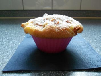 Apfel-Muffins mit Apfel-Zimt Haube - Rezept