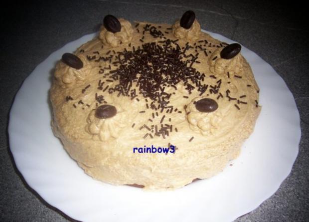 Mini Kühlschrank Für Kuchen : Backen mini mokka buttercreme torte rezept kochbar