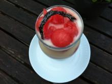 Joghurt mit Melonen -Bällchen ;-)) - Rezept