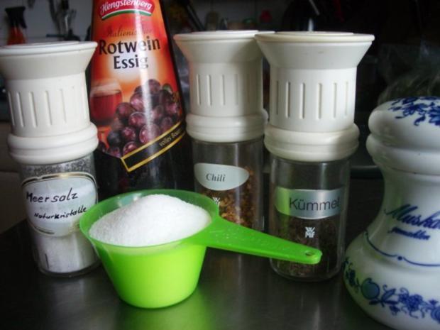 Paprika-Zucchini - Relish - Rezept - Bild Nr. 2