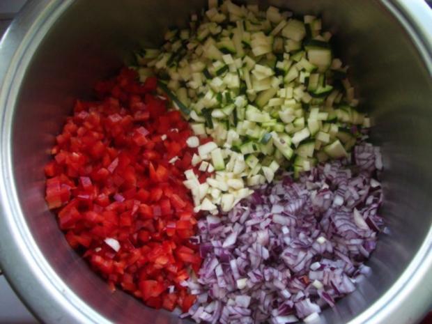 Paprika-Zucchini - Relish - Rezept - Bild Nr. 4
