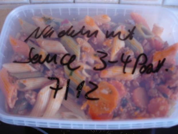 Mett-Gemüse-Sauce mit Nudeln - Rezept - Bild Nr. 20