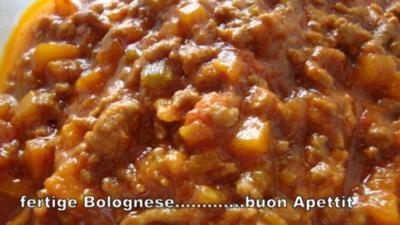 Original Bologneser Soße - Rezept