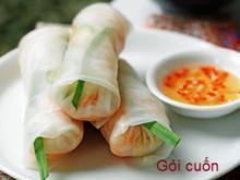 Goi Cuon (Vietnamesische Glücksrolle) - Rezept