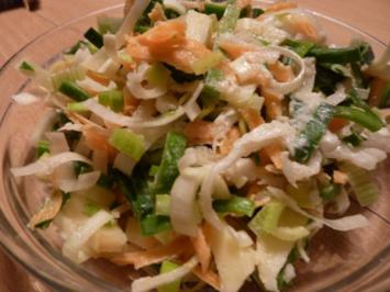 Salate: Porreesalat - Rezept