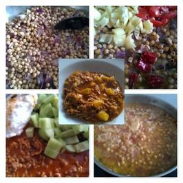 Fleisch / Rind = Hackfleisch mit Kichererbsenmus à la Biggi - Rezept - Bild Nr. 32