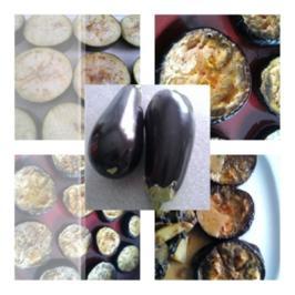 Biggi`s Gemüsebeilagen = Auberginen schonend gebacken mit Pfiff - Rezept - Bild Nr. 12