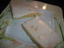 Zitronenblechkuchen - Rezept