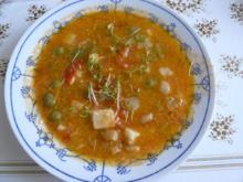 Provenzialische Tomatensuppe - Rezept