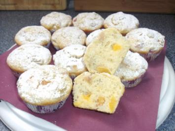 Rhabarber-Aprikosen Muffins - Rezept