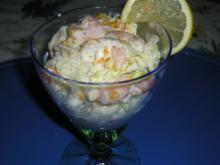 Fruchtiger Krabben-Cocktail - Rezept