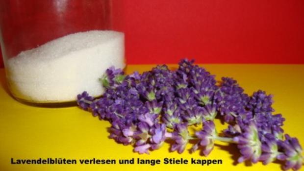 Lavendel Zucker - Rezept - Bild Nr. 2