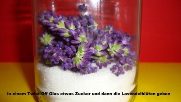 Lavendel Zucker - Rezept - Bild Nr. 3