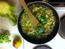 Vegane Fenchel-Birnen-Pfanne - Rezept