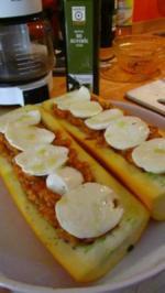 Überbackene Zucchini - Rezept