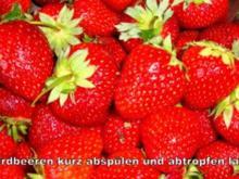 feine Erdbeersoße - Rezept