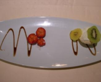 Neuseeländischer Pavlova - Baiser-Kuchen an Früchten - Rezept