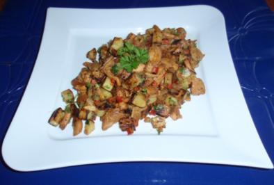 Bratkartoffel-Pilz-Pfanne - Rezept