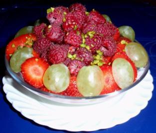Vanillequark mit Fruchtturm - Rezept