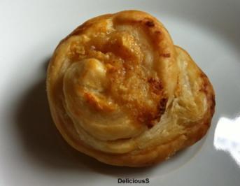 Pudding - Blätterteigschnecken | Puddingschnecken - Rezept