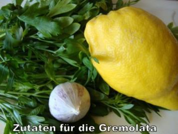 Gremolata für das Ossobucco - Rezept