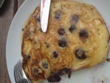 Blaubeer-Pancakes - Rezept