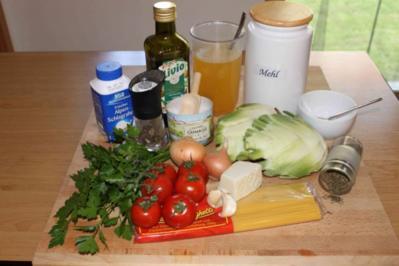 Spaghetti mit Fenchel-Tomaten-Soße - Rezept
