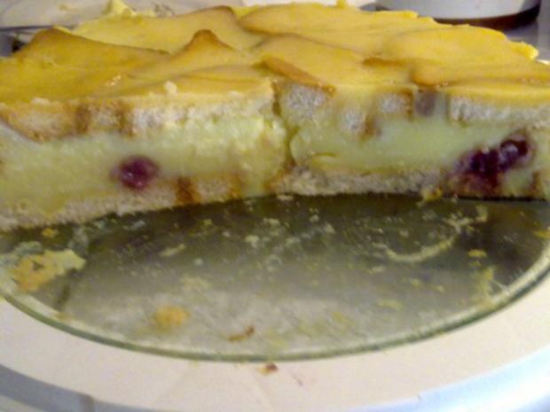 Zwiebackkuchen Mit Vanillepuddingpulver Und Milch Rezept Mit Bild