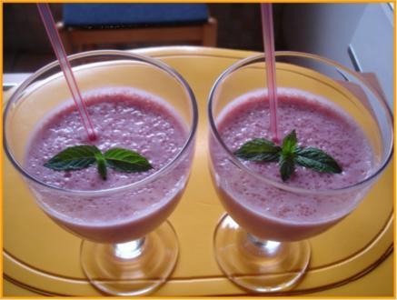 Erdbeer – Amaretto – Shake - Rezept