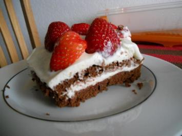 Erdbeer-Schoko-Käsesahne - Rezept