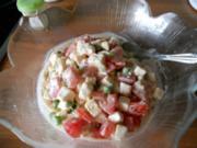 Schafkäse-Tomaten-Salat - Rezept